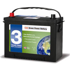 CAA Car Battery