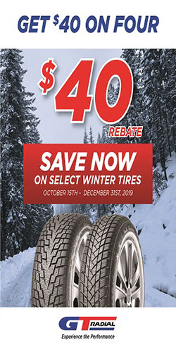 GT Radial Winter Tire Rebate