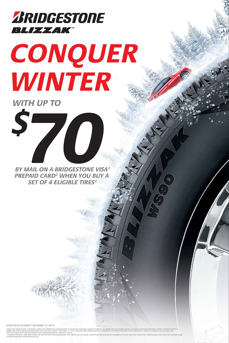 Bridgestone Winter Tire Rebate