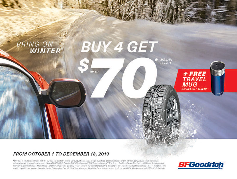 BF Goodrich Winter Tire Rebate