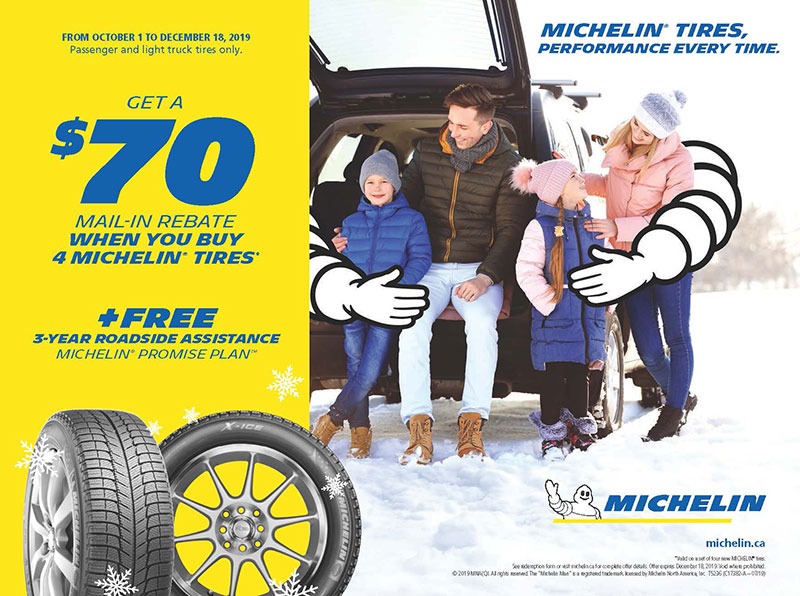 Michelin Winter Tire Rebate
