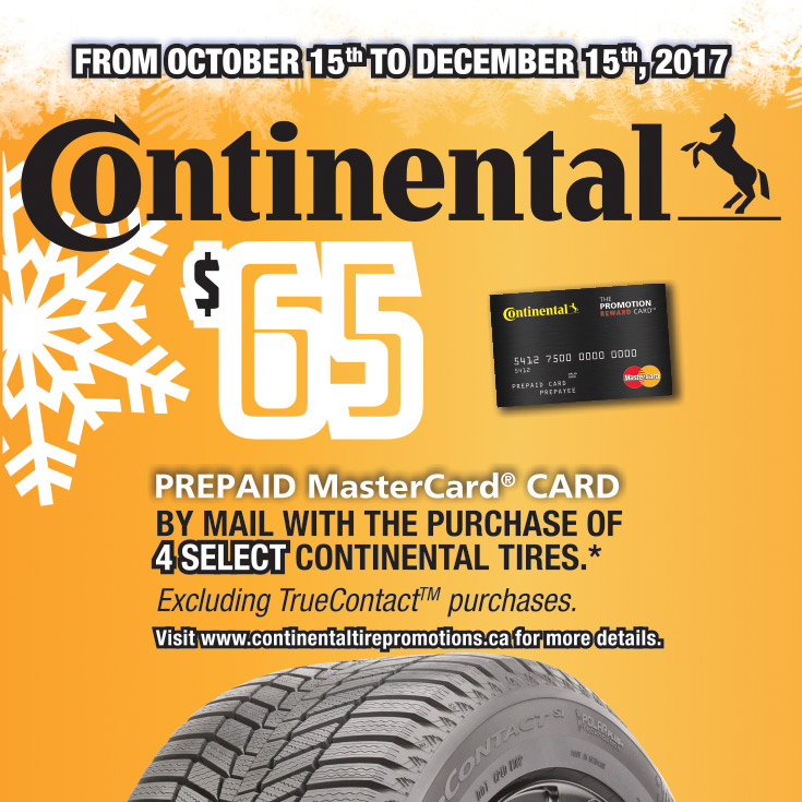 Continental Winter Tires Rebate