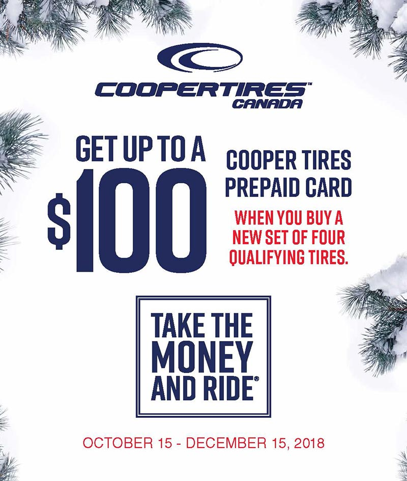 Cooper Tires Winter Tire Rebate Promotion
