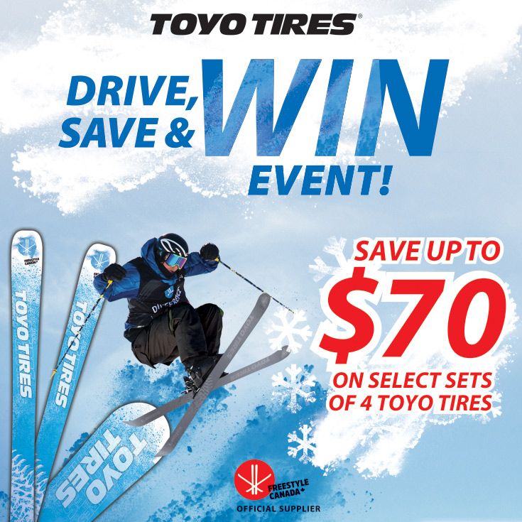 Toyo Winter Tire Rebate Promotion