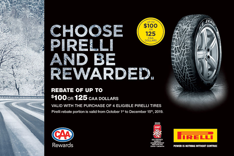 Pirelli Winter Tire Rebate